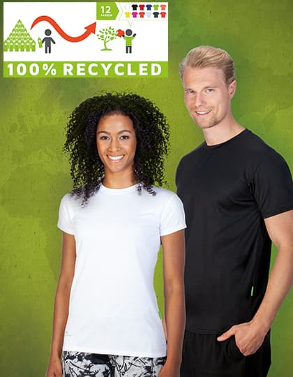 Funktions Shirt aus 100% recyceltem DRYPOWER Evolution Mesh